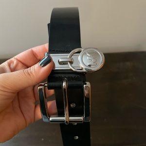 Michael Kohrs leather belt size L
